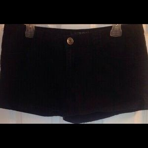 Arizona Juniors Black Khaki Shorts Size 11
